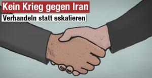 Kein Krieg gegen den Iran